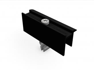 Schletter Endklemme Rapid 2+ 35mm schwarz