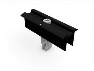 Schletter Erdungsmittelklemme Rapid2+ 40-50 mm schwarz