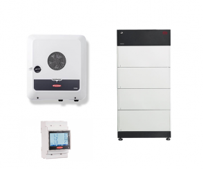 Fronius Symo GEN24 10.0 Plus + BYD B-Box Premium HVS 7.7 + Fronius Smart Meter TS 65A-3
