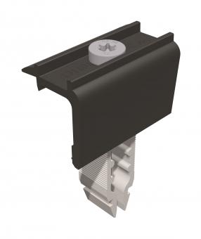 Schletter Endklemme Rapid¹⁶ 40–50mm schwarz