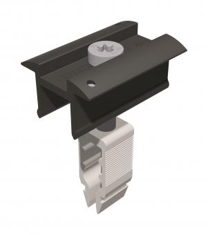 Schletter Mittelklemme Rapid¹⁶ 40–50mm schwarz